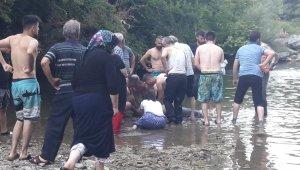 14 yaşındaki çocuk ırmakta boğuldu