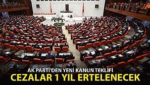 AK Parti'den Ekonomik Düzenlemeler İçeren Torba Yasa Teklifi