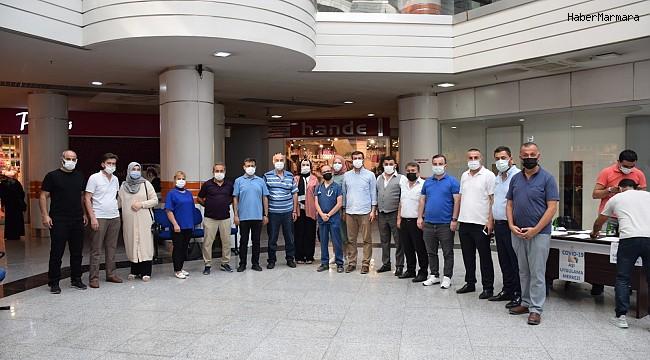 AK Parti Karabük Merkez İlçe Başkanlığı vatandaşları aşı olmaya davet etti