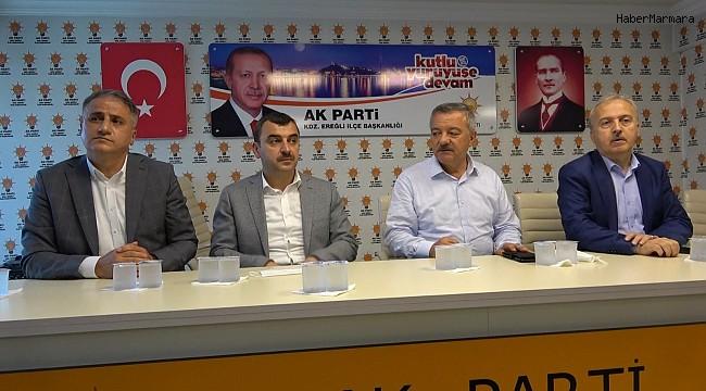 AK Parti'li vekiller istişare toplantısında bir araya geldi
