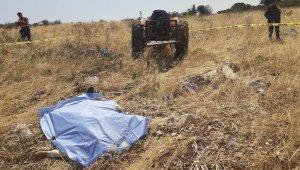 Akhisar'da traktörden düşen sürücü hayatını kaybetti