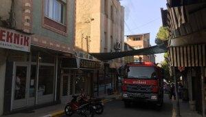 Alaşehir'de ev yangını korkuttu