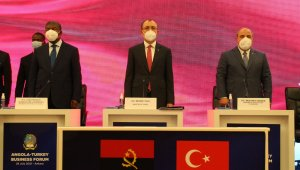 """Angola Cumhurbaşkanı Lourenço: """"Angola ekonomisi yükselme dönemini yaşıyor şu an"""""""