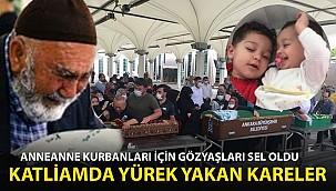 Ankara'daki Anneanne Cinayeti! Son Yolculuklarına Uğurlandılar