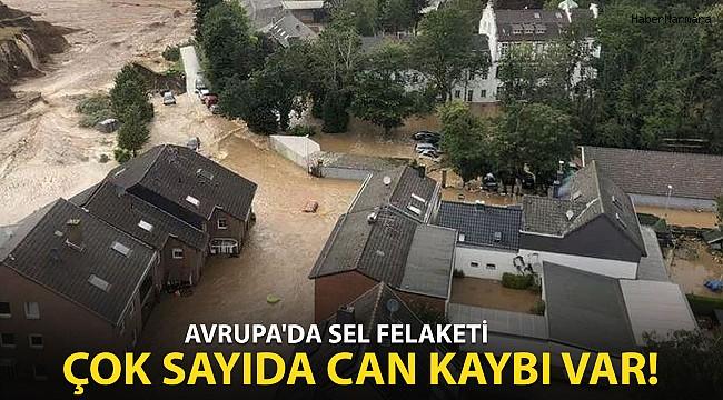 Avrupa'da Sel Felaketi: Çok Sayıda Can Kaybı Var!