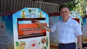Aydın'da 10 adet ambalaj getirene 1 litre sıvı gübre hediye