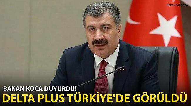 Bakan Koca'dan Son Dakika Açıklaması! Delta Plus Varyantı Türkiye'de!
