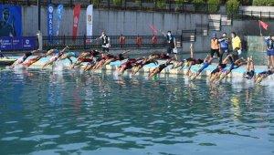 Balıkesir'de triatlon heyecanı