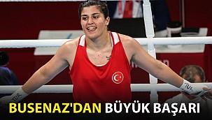 Busenaz, Olimpiyat'ta Madalyayı Garantiledi