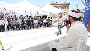Deydinler Camii dualarla açıldı