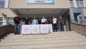 Eğitim hayatına başlayacak miniklere Akyurt Belediyesinden sürpriz