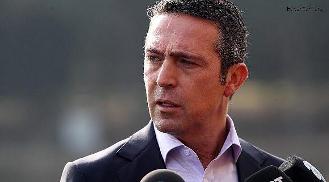 Fenerbahçe Başkanı Ali Koç'tan Transfer Açıklaması