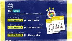 Fenerbahçe'nin hazırlık maçları canlı yayınla TRT Spor'da