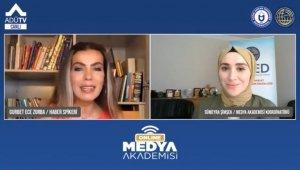 Geleceğin habercileri, 'Medya Akademisi' ile ADÜTV üzerinden eğitimlerine devam diyor