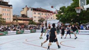 Giresun'da sokak basketbolu turnuvası düzenleniyor
