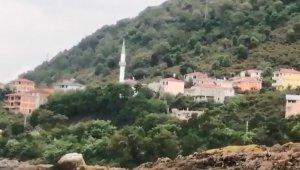 Giresun'da vatandaşlara cami hoparlörlerinden anons yapılarak sel uyarısında bulunuldu
