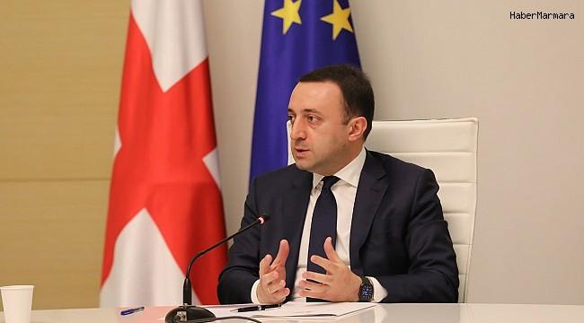"""Gürcistan Başbakanı Garibaşvili: """"Gürcistan, Türkiye'ye her türlü yardıma hazır"""""""