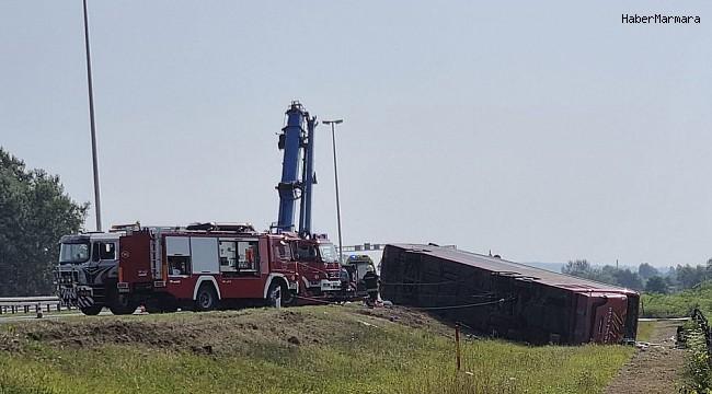 Hırvatistan'da yolcu otobüsü şarampole yuvarlandı: 10 ölü, 45 yaralı