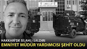 İl Emniyet Müdür Yardımcısı'na Silahlı Saldırı! Hayatını Kaybetti