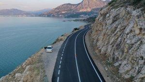 Isparta'da yollar konforlu hale getiriliyor