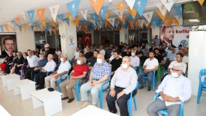 Kahta AK Parti'de bayramlaşma töreni