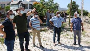 Kırkağaç'ın projelerinde çalışmalar hızla devam ediyor