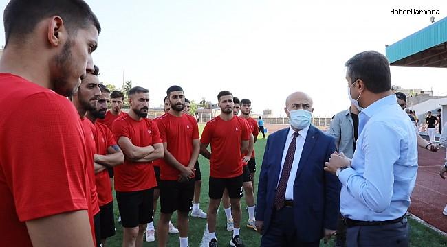 Mardin1969 Spor top başı yaptı