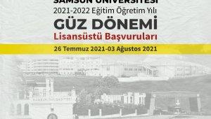 Samsun Üniversitesi lisansüstü öğrenci alım ilanı yayımladı