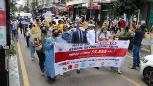 Samsun'da korona aşısı olana hediye verilecek kampanya başladı