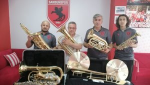 Samsunspor Bando Takımı kuruluyor