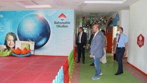 SODİMER Başkanı Eraslan'dan Iğdır Bahçeşehir Koleji'ne ziyaret