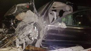 Tali yoldan çıkan tır zincirleme kazaya neden oldu: 3 yaralı