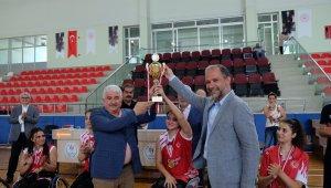 Tekerlekli Sandalye Basketbol Kadınlar Türkiye Şampiyonası İskenderun'da yapıldı