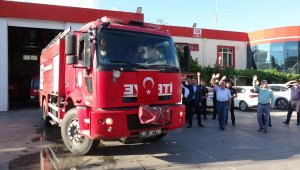 Tokat'tan yangın bölgesine destek