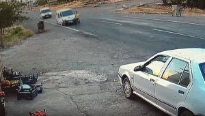 Yola fırlayan çocuk, şoförün dikkati sayesinde ölümden kıl payı kurtuldu