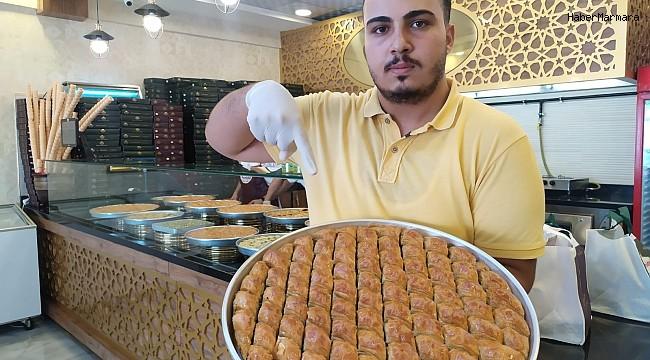 100 fidan bağışı yapana bir kilo baklava bedava