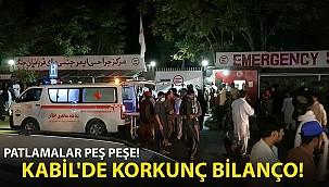 Afganistan Kabil'deki Terör Saldırılarında Bilanço Ağırlaşıyor!