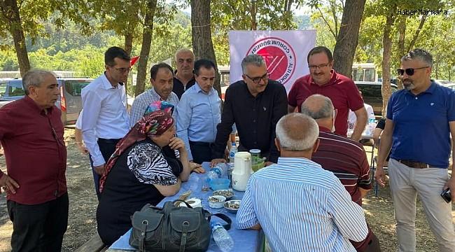 """AK Parti İl Başkanı Yusuf Ahlatcı, """"Engel fizikte değil, zihindedir"""""""