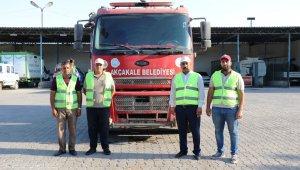 Akçakale'den Manavgat'a itfaiye desteği