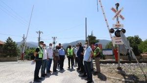 Akşehir OSB demiryolu yük taşımacılığı için inşaat çalışmaları başlıyor