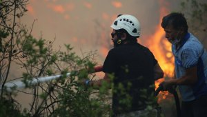 Aliağa Belediyesi ekipleri, Marmaris'te görevde