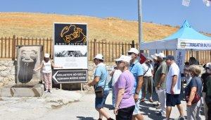 Arslantepe Höyüğü Dünya Kültür Mirası listesine girdikten sonra ilk turistleri ağırladı