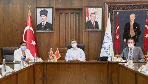 Aydın'da Yangın Değerlendirme Toplantısı Yapıldı