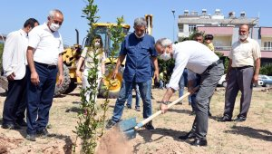 """Başkan Bozdoğan'dan çağrı: """"Yangına dayanaklı ağaç türlerini dikelim"""""""