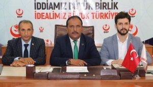"""Başkan Bulut; """"HDP terör örgütünün siyasi uzantısıdır"""""""