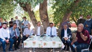 Başkan Gürkan, Arapgir ilçesinde incelemelerde bulundu