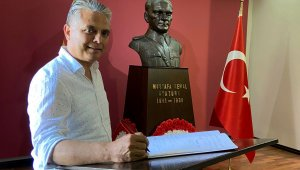 Başkan Uysal Kuzey Makedonya'da Manastır Askeri İdadisi'ni ziyaret etti