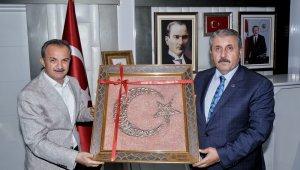 BBP Genel Başkanı Destici'den, Başkan Kılınç'a ziyaret