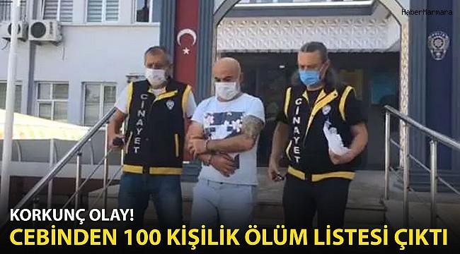 Bursa'da Korkunç Olay! Cebinden 100 Kişilik Ölüm Listesi Çıktı