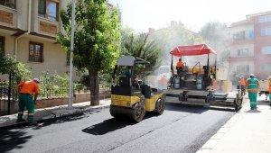 Çankaya Belediyesi 20 cadde ve sokakta asfalt çalışmasını tamamladı